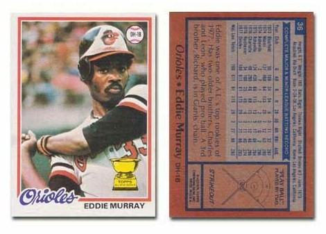 Eddie Murray and a Strikeout!